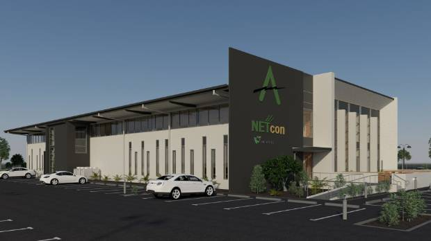 New offices at Alpine Energy will bring more than 170 Alpine and Netcon staff into one main block.