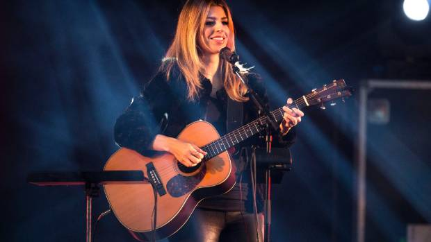 Brooke Fraser was the headline act.