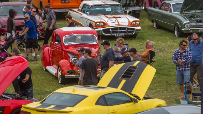 Muscle Car Madness A Hit In Rangiora Stuff Co Nz