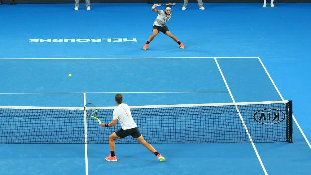 97da44f25f5b3a Roger Federer reveals his bold strategy to beat Rafael Nadal in the  Australian Open final