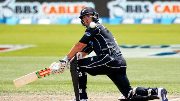 Neil Broom appears a leading contender to replace Ross Taylor if required in the New Zealand test team in Wellington.