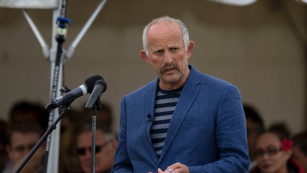 Opportunities Party founder Gareth  Morgan made a splash at Ratana.