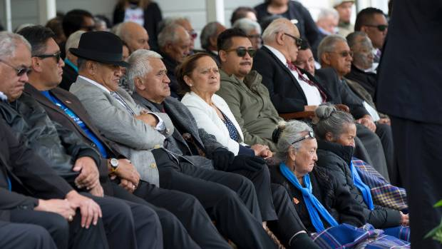 Some of the crowd at last week's Ratana celebrations.