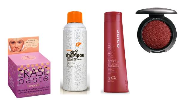 Just a few of Maher's beauty must-haves.