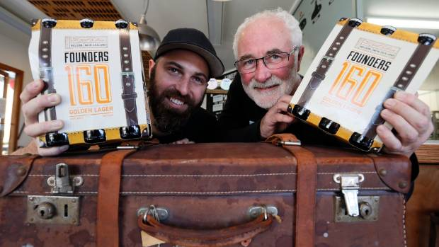 Matt Duncan, left and John Duncan of Founders Brewery, which sold its brand to Independent Liquor - a move which has ...