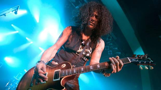 Velvet Revolver guitarist Slash rejoined the band for their latest tour.