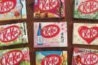 Matt Butler's collection of Kit Kats include sake and rockmelon.