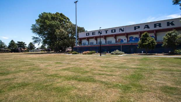 A $35.7m combined pool, library and service centre facility will be built at Denton Park, Hornby.