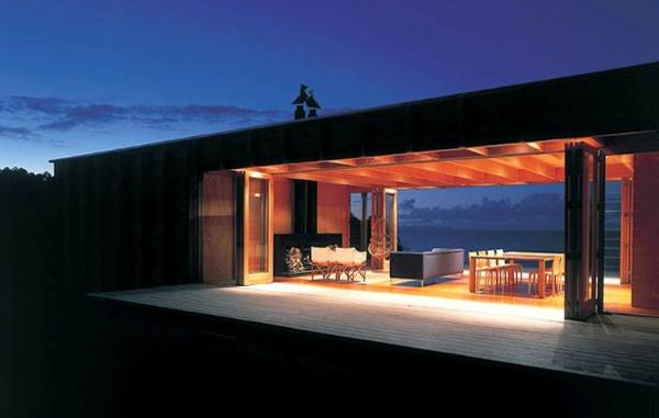 Architect Ken Crosson's bach on the Coromandel peninsula has won numerous design awards since it was built in 2002, ...