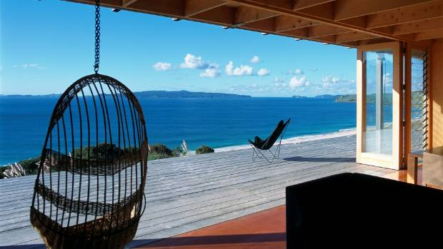Both the design and the view wowed George Clarke of Amazing Spaces.