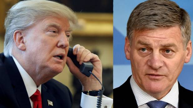 Bill English needs to figure out how to deal with Trump  - fast.