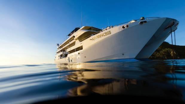 Blue Lagoon Cruises' Fiji Princess.
