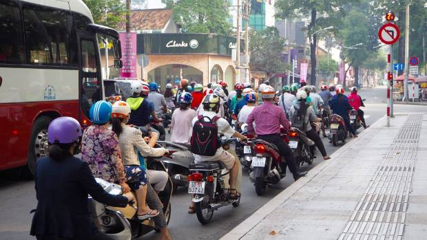Vietnam travel tips: How to cross the street in Ho Chi Minh City