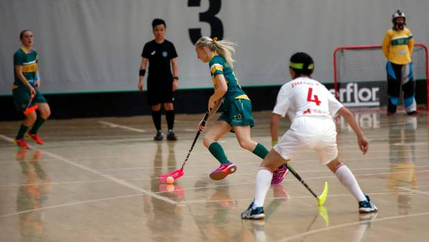 The Women's World Floorball Championships qualifying tournament is in Wellington until February 5.
