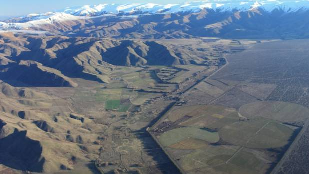 The Mackenzie Basin between Twizel and Omarama in 2010.