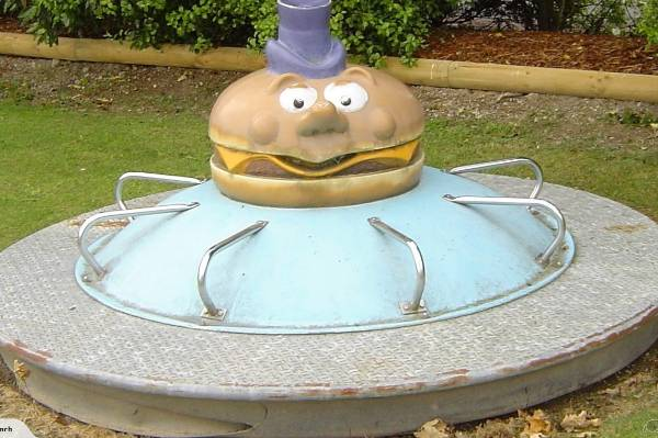 retro mcdonald s playground pieces up for grabs stuff co nz