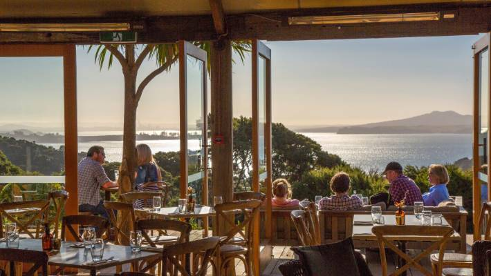 Auckland S Got Plenty Of Options To Dine With A View Often Featuring Rangitoto Island