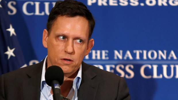 PayPal co-founder and Facebook board member Peter Thiel had his NZ citizenship ceremony in Santa Monica.