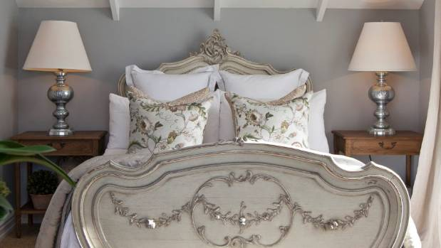 A French inspired boudoir in Auckland.
