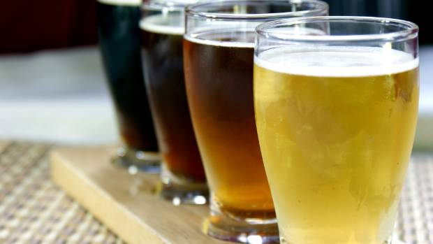 Taste a variety of craft beers on a brewery tour.