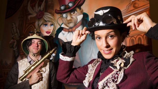 Paula Lester-Garcia, owner of the Clockwork Steampunk Emporium in Wellington's Old Bank Arcade, was thrilled to sell a ...