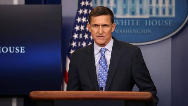 National security adviser General Michael Flynn.