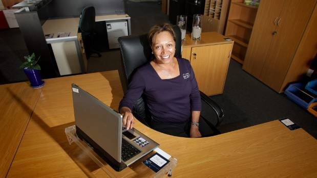 Anna Davis, owner of Office Furniture First, is passionate about Maori business.