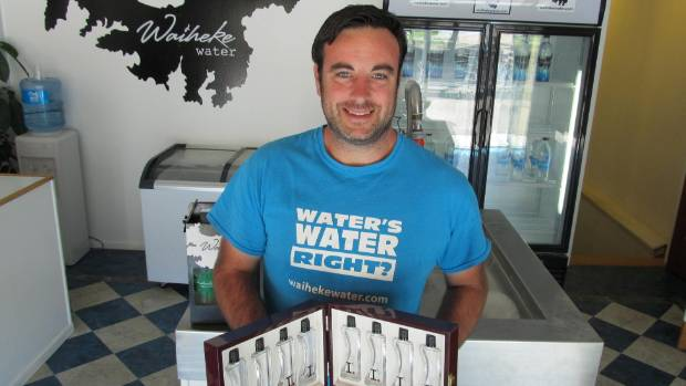 Jessie Ball is proud of his new Imperial water.