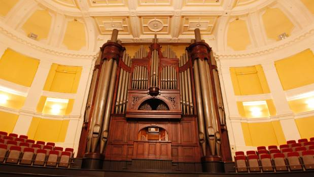 The 4000-pipe organ inside Wellington's Town Hall, which was removed in 2013, will also be reinstalled.