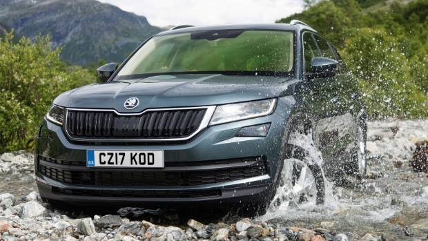 largest ever skoda suv will have very small engine in nz. Black Bedroom Furniture Sets. Home Design Ideas