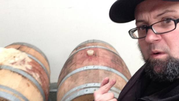 North End head brewer Kieran Haslett-Moore.
