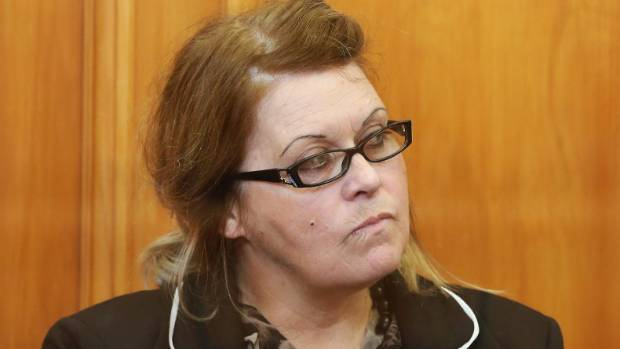 Donella Knox is sentenced for murder at the High Court sitting in Blenheim.