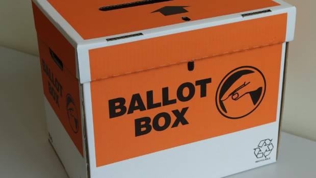 150914. News.Photo:Peter Drury/Fairfax NZ . Generic Ballot box . Vote. Voting . Election.