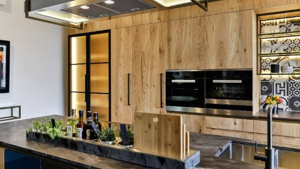 This New Kitchen By Kitchens By Design Includes A Place For Herbs To Grow  On The
