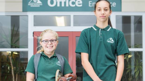Neve Ganley prefers comfort over style when it comes to her school uniform.