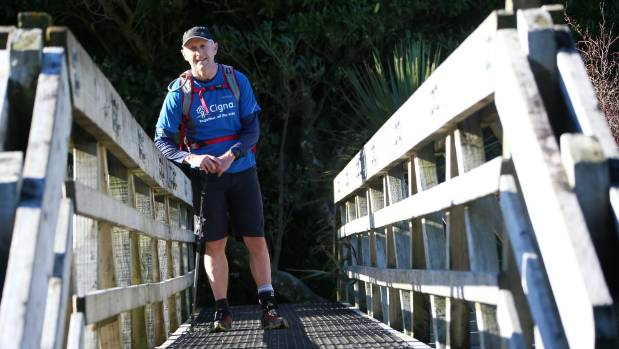 Richard Warwick is paralysed on the left side of his body and is aiming to complete the Coast to Coast.