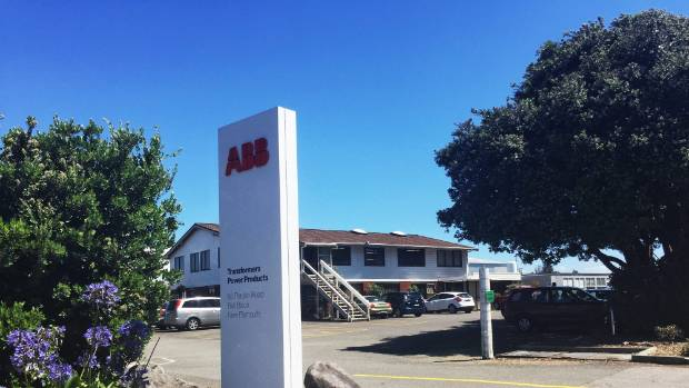 New Plymouth ABB factory is closing down, with 59 staff losing their jobs.