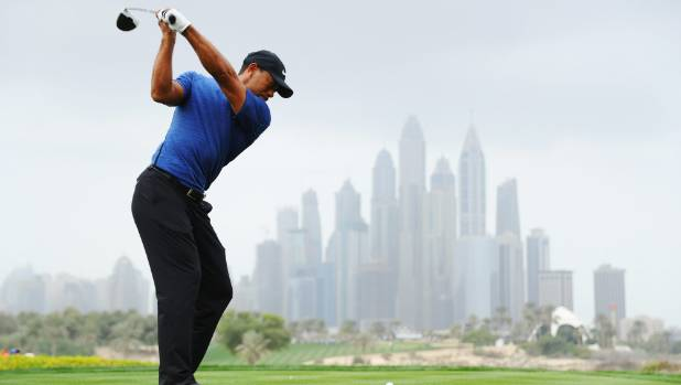 Tiger Woods withdraws from Dubai Classic due to injury