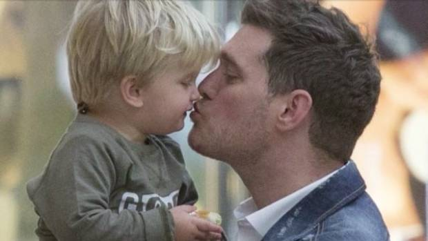 Michael Bublé opens up about four-year-old son Noah's cancer diagnosis