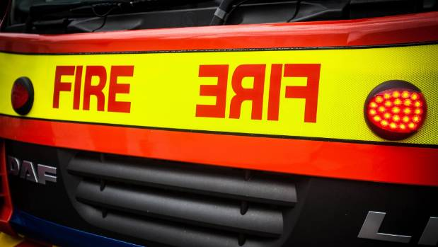 Five fire crews from Twizel and Omarama attended a fire at a wool shed near Omarama on Friday morning.