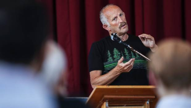 The Opportunities Party leader Gareth Morgan said Mt Albert finally have a choice of voting for a member of their own ...