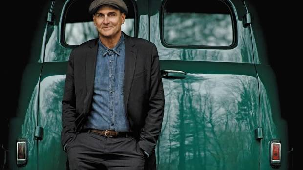 James Taylor was last in New Zealand in 2010 where he played alongside Carole King at Vector Arena.