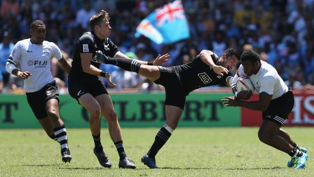 New Zealand take on Fiji in the quarterfinal match last weekend.
