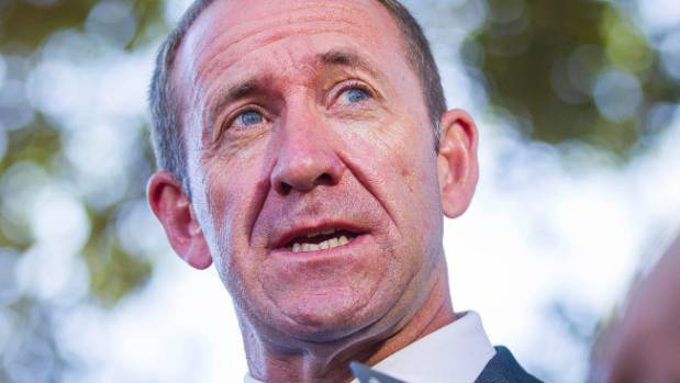 Labour Party leader Andrew Little came in third place.