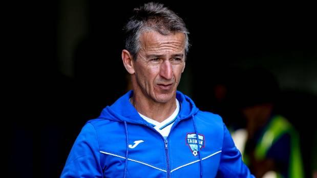 Davor Tavich has taken over from Richard Anderson as Tasman United coach.
