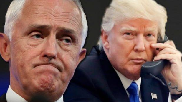 Australian Prime Minister Malcolm Turnbull could be heard poking fun at US President Donald Trump in the leaked audio.