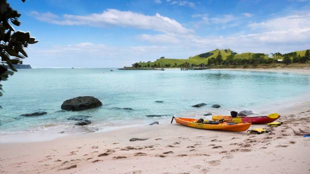 Kayaking is among the activities on offer at Slipper Island.