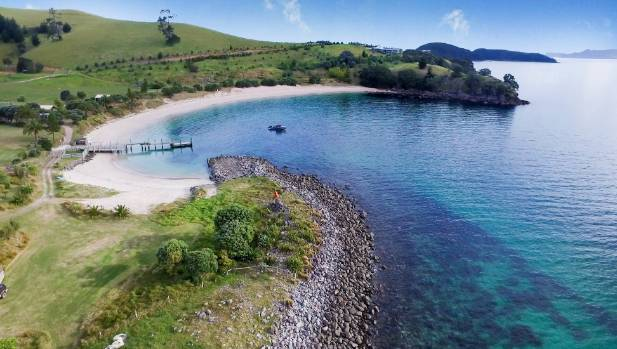 Slipper Island's luxuriant sand and clear waters offer a world class beach experience.