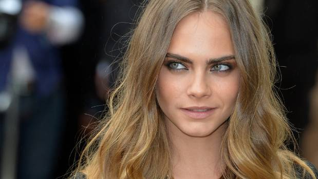 Cara's complexion and eye colour suit this colour trend so well.