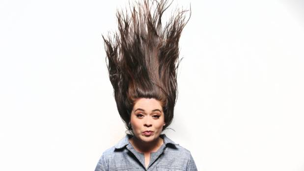 When I suggested Daniel's hair was where her powers came from, she didn't disagree.